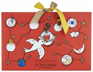 Hudson's Bay The Bay L'Occitane x Castelbajac 2018 Advent Calendar 24-Piece Holiday Gift Set - Glossense