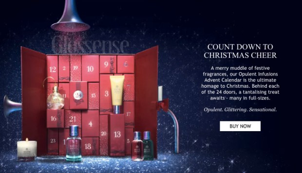 Saks Fifth Avenue Canada Molton Brown Opulent Infusions 2018 2019 Canadian Christmas - Holiday Advent Calendar - Glossense