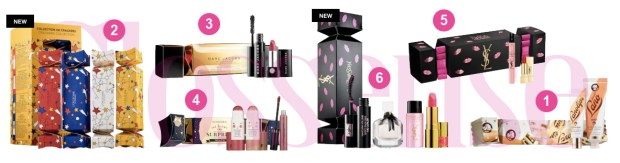 Sephora Canada Canadian Gifts Holiday Cracker Christmas Crackers Marc Jacobs Lano L'Occitane YSL Sephora Collection - Glossense