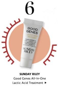 Sephora Canada Canadian Promo Code 10 Days Mystery Items Day 6 Free Sunday Riley Good Genese Lactic Acid Treatment - Glossense