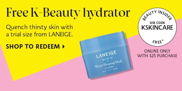Sephora Canada Coupon Canadian Promo Codes 2018 Laneige Beauty Insider KSKINSCARE - Glossense