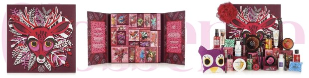 The Body Shop Canada Canadian 25 Days of the Enchanted Deluxe Advent Calendar 2018 2019 - Glossense