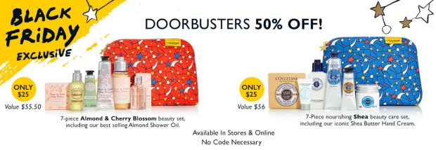 L'Occitane en Provence Canada Black Friday Preview 2018 Canadian Sale Doorbusters Doorcrashers Sale - Glossense
