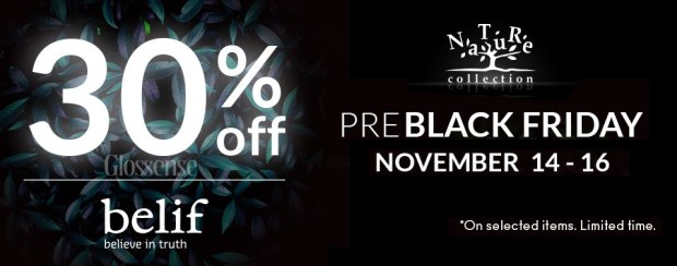 Nature Collection Canada Belif Canadian 2018 2019 Pre Black Friday Deals Offers Sale Cyber Monday - Glossense