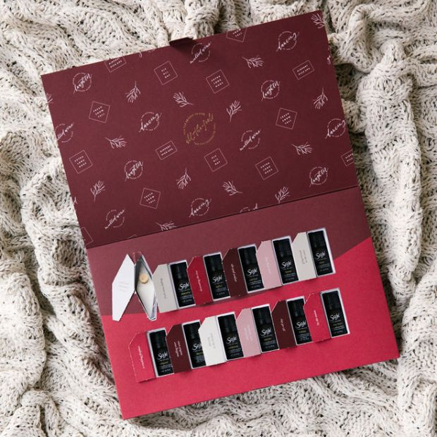 Saje Canada Natural Wellness 2018 2019 Beauty Health Holiday Advent Calendar Unboxing - Glossense