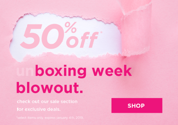 Cake Beauty Canada 2018 Canadian Boxing Day Boxing Week Blowout Sale Exclusive Deals - Glossense