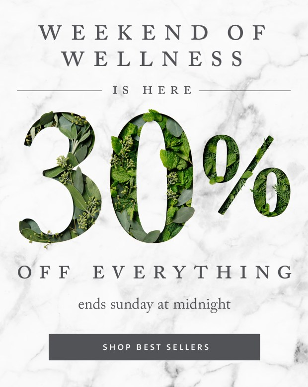 Saje Natural Wellness Canada Sale Canadian Weekend of Wellness Event  Save Off Everything January 2019 - Glossense