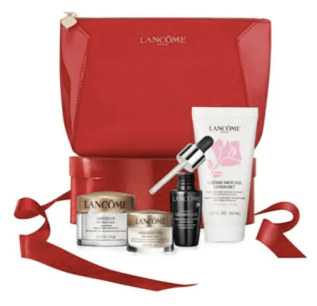 Shoppers Drug Mart Canada SDM Beauty Boutique Canadian GWP Gift with Purchase Offer Free Lancome 2019 Lunar New Year Beauty Gift Bag Travel Set Bag Deluxe Sample Canadian Freebies - Glossense