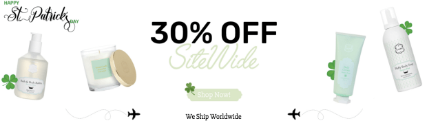 Laline Beauty Skincare Canada 2019 Canadian St. Patrick's Day Sale Deals Promotion Discount - Glossense.png