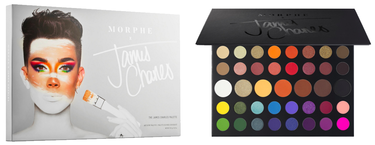 Sephora Canada Morphe X James Charles Eyeshadow Palette Is Now Available For Purchase Shop Today Paleta de james charles x morphe 100% original. sephora canada morphe x james charles