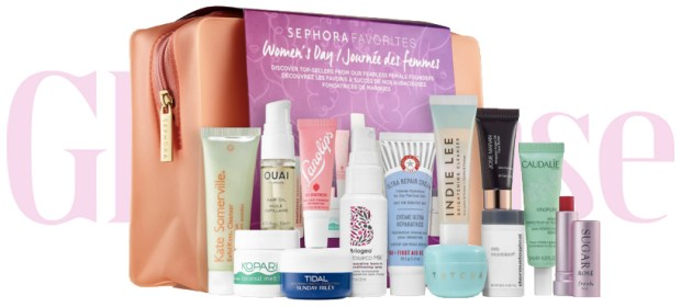 Sephora Canada Women's Day Favorites Set Kit Canadian Favourites Favorite Favourite Beauty Skin Care Skincare Collection International Women's Day IWD2019 2019 - Glossense