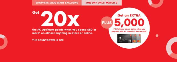 Shoppers Drug Mart SDM Beauty Boutique Canada Canadian PC Optimum Points Day Multiple Bonus Points Online Offer Promotion March 2 2019 - Glossense