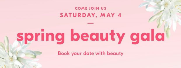 Beauty by Shoppers Drug Mart Canada SDM Beauty Boutique Canadian Spring Beauty Gala May 4 2019 In Store - Glossense