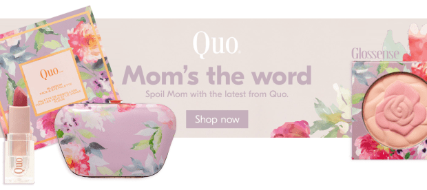 Beauty by Shoppers Drug Mart Canada SDM Canadian Beauty Boutique Shop New Quo Mother's Day 2019 Collection Earn 15x the PC Optimum Points Loyalty Rewards Spring Beauty - Glossense