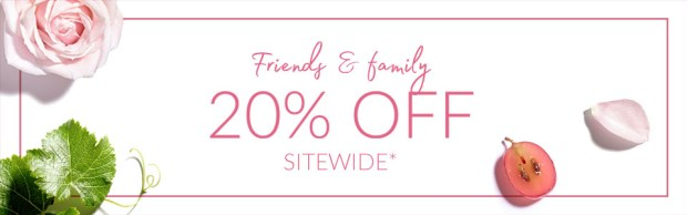 Caudalie Canada Friends and Family Canadian Sale Event 20 Percent Offer Canadian Deals April 2019 - Glossense