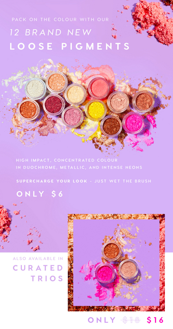 ColourPop Cosmetics Canada Canadian New Arrival 12 New Loose Pigments Available - Glossense