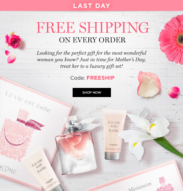 More About Lancome Coupons
