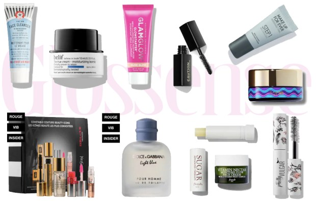 Sephora Canada Canadian Beauty Insider Rewards Bazaar Freebies April 26 2019 - Glossense