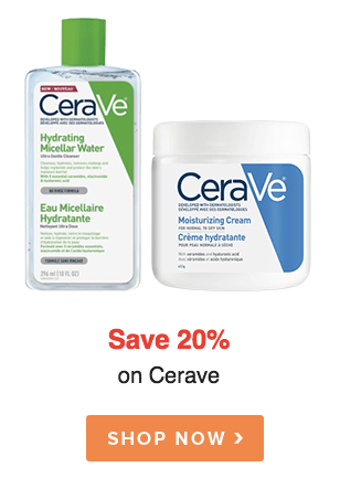 Welldotca Well.ca Well dot ca Canada Canadian Sale Deals Save on Cerave Skincare Products - Glossense