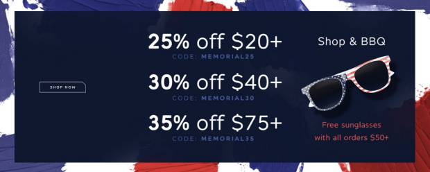 Ofra Cosmetics Canada Canadian Sale Savings Discount Free Sunglasses with Purchase 2019 Memorial Day Sale Promo Codes Canadian Deals - Glossense