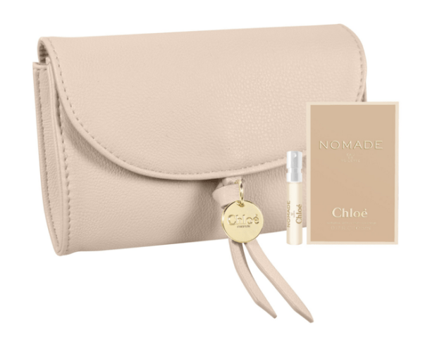 Sephora Canada Canadian GWP Gift with Purchase Coupon Promo Code Free Chloe Perfume Fragrance Pouch Sample Set May 2019 - Glossense