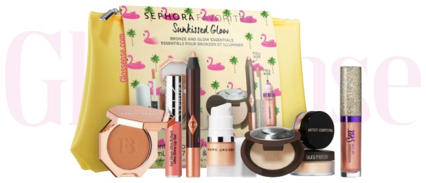 Sephora Canada Favorites Set Kit Canadian Favourites Favorite Favourite Collection Beauty Sunkissed Glow Makeup Kit Set - Glossense