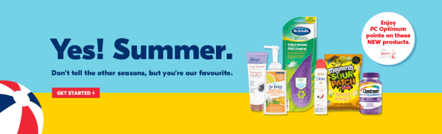 Shoppers Drug Mart Canada SDM Beauty Boutique Say Yes to Summer Shop and Earn PC Optimum Points Canadian Free Rewards New Products May June 2019 - Glossense
