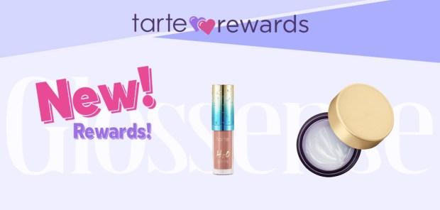 Tarte Cosmetics Canada Reward Shop New Canadian Rewards Loyalty Program Free H2O Sundress Lip Gloss Drink of H2O Moisturizer - Glossense
