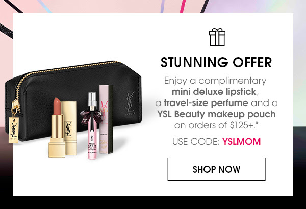 Yves Saint Laurent Canada YSL Beauty Canadian Mother's Day 2019 Promotion Promo Code Coupon Code Free Gift Set with Purchase GWP - Glossense
