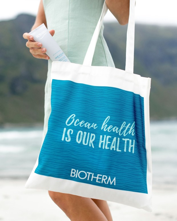 Beauty Boutique by Shoppers Drug Mart Shop Biotherm Products Receive Free Reusable Eco-Friendly Ocean Health Tote Bag Canadian In-Store Gift with Purchase Offer - Glossense