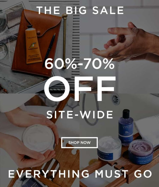 Crabtree & Evelyn Canada 60 - 70 Percent Off Sitewide Everything Must Go Bath Body Skincare Beauty 2019 Canadian Deals Sale - Glossense