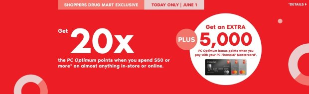 Shoppers Drug Mart SDM Beauty Boutique Canada Canadian PC Optimum Points Day Multiple Bonus Points Online Offer Promotion June 1 2019 - Glossense