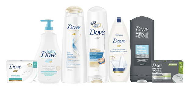 Topbox Canada Beauty Freebies Free Dove Care Package with Free Sample Products Canadian Freebies Coupons - Glossense