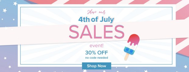 Beauty Bakerie Canada 4th of July Event Save 30 Percent Off Sitewide 2019 Canadian Deals Sale - Glossense