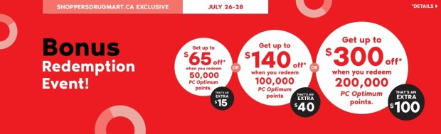 Shoppers Drug Mart Beauty Boutique SDM Canada Super Spend Your Canadian PC Optimum Points Redemption Event June 26 28 2019 - Glossense