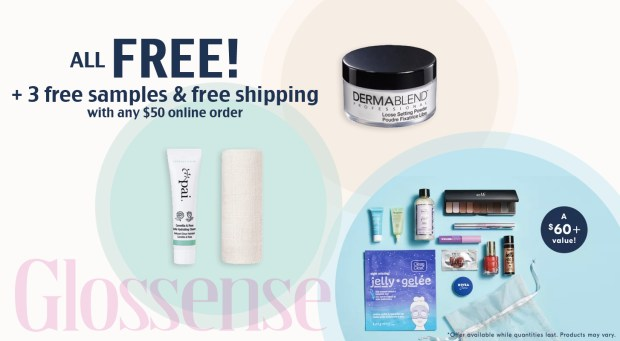 Shoppers Drug Mart Canada SDM Beauty Boutique Stack Multiple FREE GWP Offers with ANY 50 Luxury Beauty Order 3 Free Samples Free Canadian Shipping - Glossense