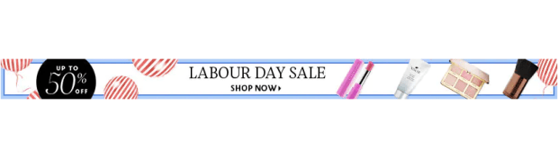 Sephora Canada Labour Day Labor Day End of Summer Sale 50% Off Beauty - Glossense