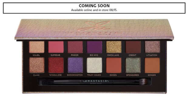 Sephora Canada Makeup ABH Anastasia Beverly Hills Jackie Aina Eyeshadow Palette Canadian New Arrival New Release Launches August 15 2019 - Glossense