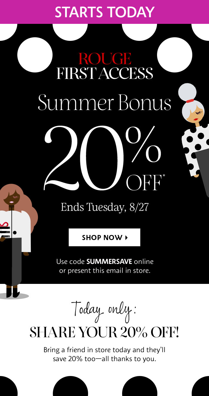 graphic relating to Sephora Printable Coupons known as SEPHORA CANADA: Rouge Summer time 2019 Reward Sale Begins At present