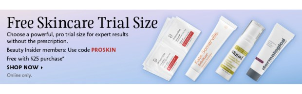 Sephora Canada Canadian Beauty Offers Promo Code Coupon Codes Free Skin Care Skincare Free Mini Deluxe Samples Dr Dennis Murad Kate Somerville Dermalogica - Glossense