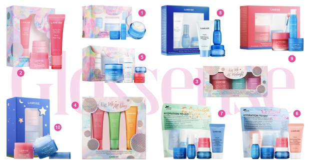 Sephora Canada Clean Laneige 2019 Canadian Holiday Christmas Products Items Gift Sets Ideas Canadian Deals Sneak Peek Spoilers Preview 2019 2020 First Look Beauty Skincare Lip Gloss Balm - Glossense