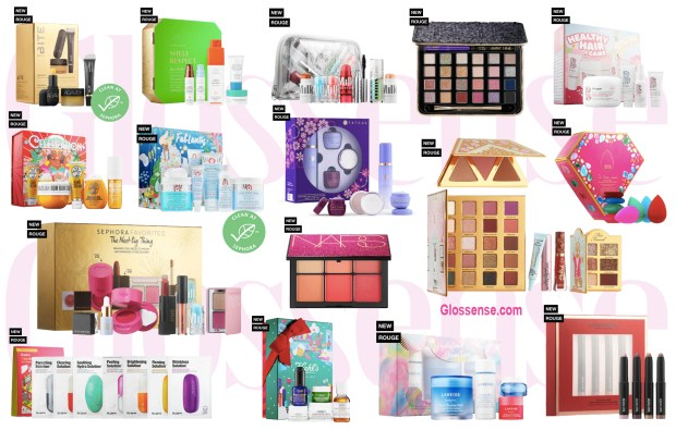 Sephora Canada Holiday Preview Exclusive Items Products Christmas Gift Sets Canadian Deals 2019 2020 First Look Beauty Cosmetics Skincare Makeup - Glossense