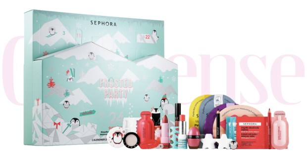 Sephora Canada Sephora Collection Frosted Party 2019 2020 Holiday Christmas Beauty Advent Calendar Unboxing - Glossense
