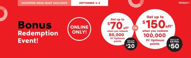 Shoppers Drug Mart Beauty Boutique SDM Canada Super Spend Your Canadian PC Optimum Points Redemption Event September 2 4 2019 - Glossense