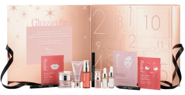 Beauty by Shoppers Drug Mart SDM Beauty Boutique Canada Rodial 12 Days of Red Carpet Glam 2019 2020 Canadian Christmas Holiday Advent Calendar Unboxing - Glossense