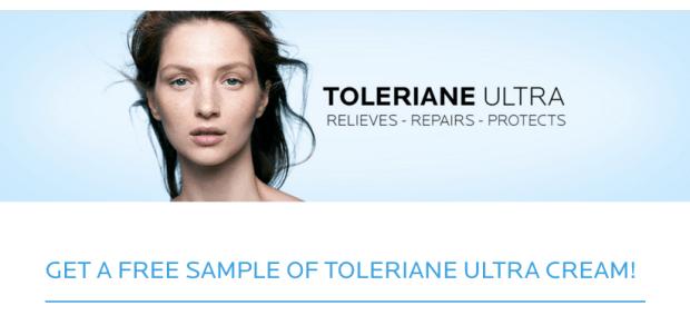 Canadian Beauty Freebies Free La Roche-Posay Toleriane Ultra Cream Sampling Offer - Glossense