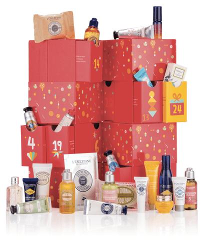 L'Occitane Canada 2019 2020 Luxury Holiday Advent Calendar Canadian Calendars Christmas Calendar of Dreams Skincare Beauty Fragrance Unboxing - Glossense