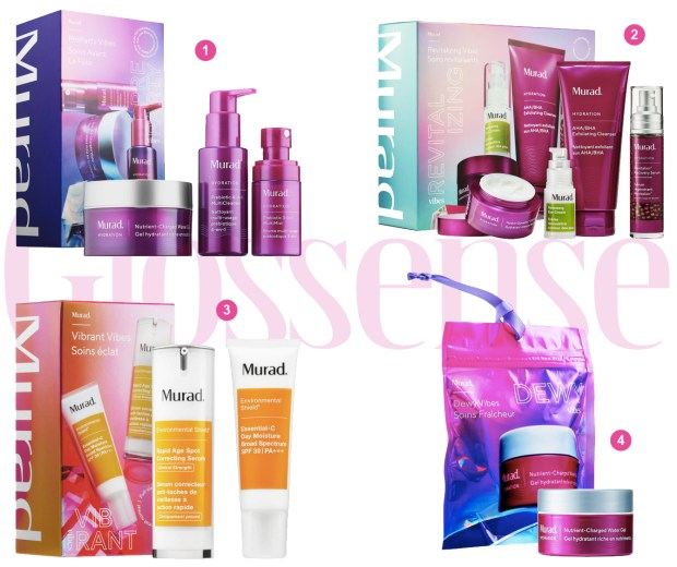 Sephora Canada 2019 Murad Canadian Holiday Christmas Products Items Gift Sets Canadian Deals Sneak Peek Spoilers Preview 2019 2020 First Look Beauty - Glossense