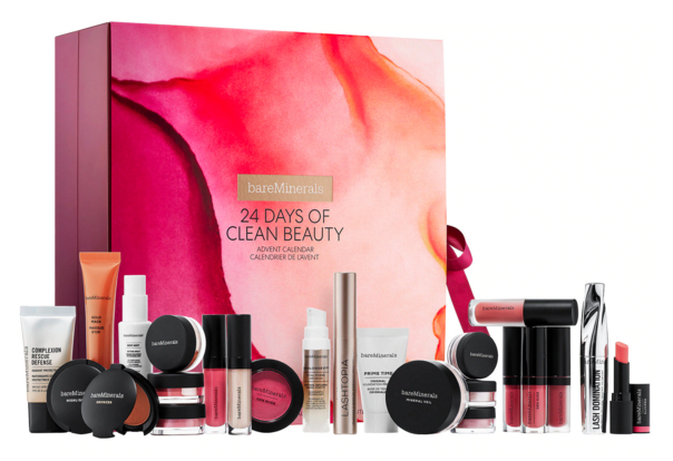 Sephora Canada BareMinerals 24 Days of Clean Beauty 2019 2020 Canadian Holiday Christmas Beauty Advent Calendar Unboxing - Glossense