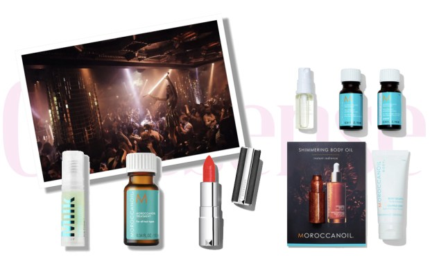 Sephora Canada Canadian Beauty Insider Rewards Bazaar Freebies October 8 2019 Givenchy Milk Makeup UD Urban Decay Moroccanoil - Glossense